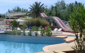MOBIL HOME direct BORD DE  MER  sur camping 4 **** espace aquatique ,  animation enfant,sportive,soirée  tous commerces