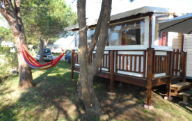 Mobil home spacieux 3 chambres / 6-8 pers camping 4* lac des rêves