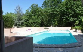 Appartement pour 6 pers. avec piscine privée, Rustrel