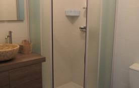 La salle d'eau de la chambre Adélaïde