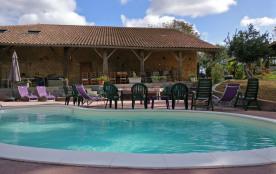 Gite nature avec piscine