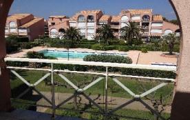 Studio mezzanine pour 4 personnes situé à la résidence les Soleillades avec piscine d'été, Palava...