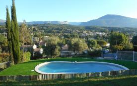 Côte d'azur - Villa 9 personnes - Piscine 9m -Magnifique vue