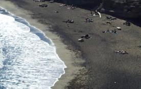 plage de la conque plage volcanique a proximité