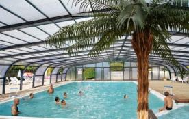 Camping L'Étang du Pays Blanc - Chalet 35 m² (3 chambres)
