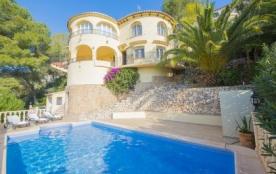 Villa OL CASTI - Villa avec piscine privée située à Benissa Costa pour 6-7 personnes.