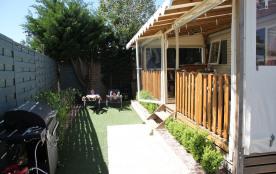 Mobilhome climatisé 3 chambres camping 4* avec piscine chauffée