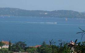 Maison vue mer proximité plages et centre ville, Sainte-Maxime Côte d'Azur