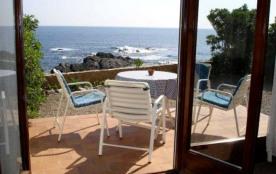 Bel appartement d'une capacité de 4/5 personnes, en rez-de-chaussée avec une merveilleuse vue mer et petit jardin ave...