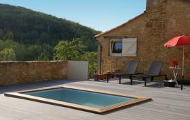 La Grange est une fabuleuse maison de vacances située en Dordogne, et le village de Castelnaud la...