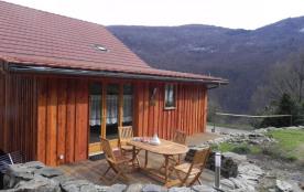 Le gite avec la terrasse