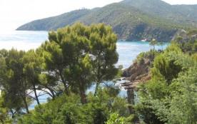 Quartier résidentiel, accès direct aux criques et vue mer panoramique pour cette maison de 5 cham...