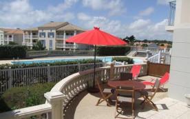 200m env. bord de mer, dans résidence agréable avec piscine collective, Bel appartement 2 chambres