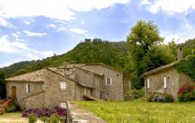 Locations en Cévennes dans le Gard au bord de la rivière avec piscine