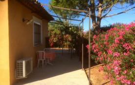petite villa dans les vignes