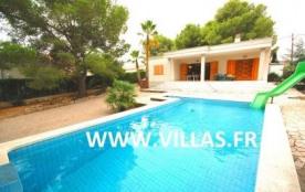 Villa VN Charly - Villa située dans le quartier tranquille de Las Tres Calas à moins de 5 km de l...