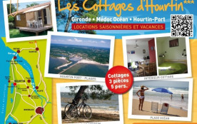 Cottages Hourtin*** - Chalets-Cottages Location Meublés de Vacances