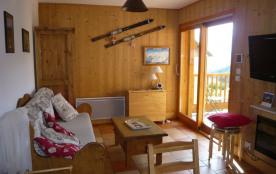 loue appart 35m² skis les sybelles