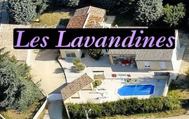 Les Lavandines: gîte 4 *, piscine, sauna, Ardèche sud - Saint Remèze