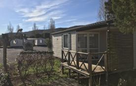 Location mobil-home dans camping 4 **** pour 4/6 personnes.