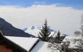 La Tournette vue de la terrasse