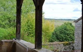 La vue de la terrasse.