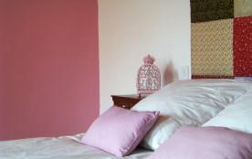 """la chambre """"le trèfle rose"""""""