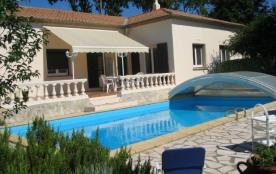 Villa avec piscine à Murviel Les Beziers - Aux abords du village de Murviel-les-Béziers, vous tro...
