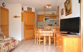 Appartement 2 pièces de 35 m² environ pour 6 personnes, la Résidence Pointe de Chombas est située...