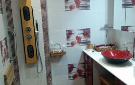 salle d'eau, douche à l'italienne