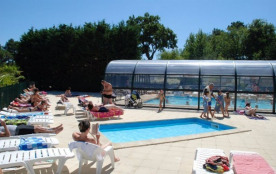 Camping CLAIRIERE - MH 3ch 6pers 30m² + Terrasse Intégrée