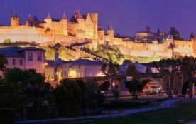 maison de ville au pied de la Citée de Carcassonne