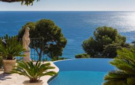Vue terrasse piscine