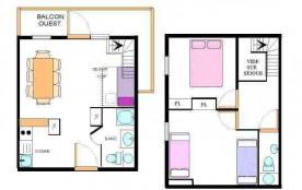 Appartement duplex 3 pièces 8 personnes (30)