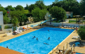 Camping Crin Blanc  3* - Mobil-home 6 personnes - 2 chambres (entre 6 et 10 ans) (Max. adultes: 4)