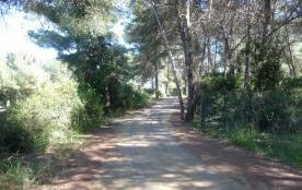 Route de la plage par piste cyclable