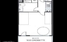 Appartement 2 pièces 6 personnes (318)