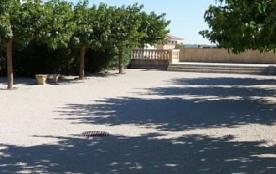 Terrain de boules de la résidence