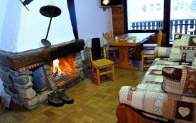 Les Vosges, La Bresse, appartement avec balcon, 4/5 personnes, 42 m², cheminée, idéalement situé