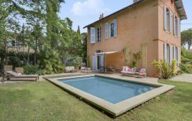 squarebreak, Maison avec jardin et piscine dans la ville d'Aix