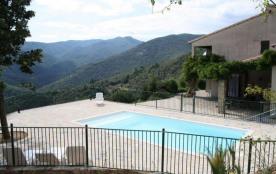 SOUDORGUES, dans le Gard, belle villa pour 10 personnes, dans splendide environnement que sont le...