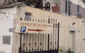 entrée de la demeure du Cellier