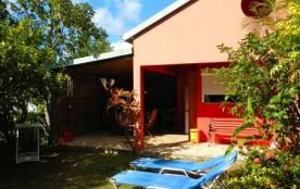 Le bungalow « Mabouilla »  à 400 m de la plage de FORT ROYAL