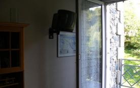 accès au balcon depuis salon