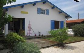 Biscarrosse Plage villa à 50m de la plage pour 6 personnes