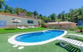 Villa CV Moli - Agréable villa indépendante avec piscine privée pour 10 personnes située à Lloret...
