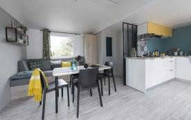 CAMPING LES DUNES 5 étoiles Mobil-home DUNE VIP Brétignolles sur mer Vendée
