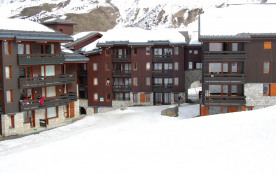 Appartement sur piste à Meribel Mottaret
