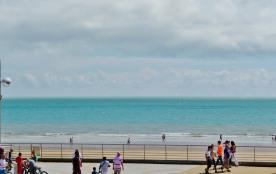 Vue du Balcon Bord de Mer, 50 m plage