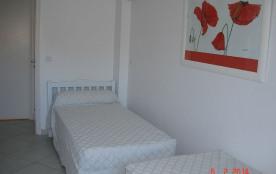 Chambre 2 lits d'1 personne